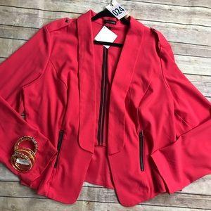 Women's plus Hot Pink Maurices Blazer